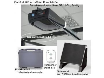 Marantec Comfort 260 akku solar Garagentorantrieb