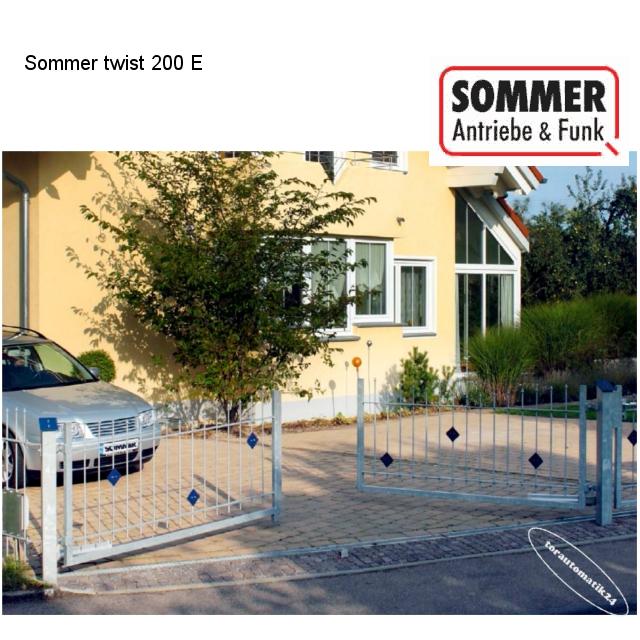 Sommer twist 200 E Drehtorantrieb 2-flügelig