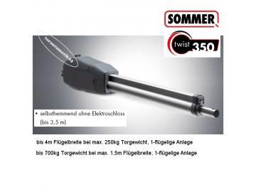 Sommer twist 350 Drehtorantrieb-Set, 2-flügelig