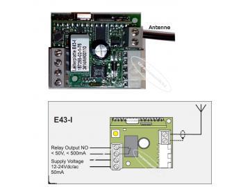 tormatic Empfänger Modul E 43-I 433MHz Novoferm